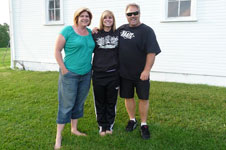 Brianna with her Proud Parents